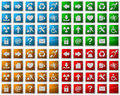 Web Icons And Symbol Buttons Royalty Free Stock Photos - 6479878