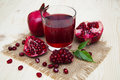 Pomegranate Juice Stock Image - 64705781