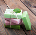 Handmade Soap Stock Photography - 64730932