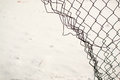 Broken Chain Link Fence Royalty Free Stock Image - 64748106