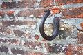 Rusted Hook In A Stone Royalty Free Stock Photos - 64753188