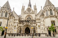 The Royal Courts Of Justice In London, UK Stock Image - 64761151