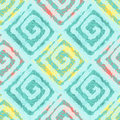 Abstract Seamless Pattern With Squares In Ethnic Style. Royalty Free Stock Photography - 64774357