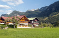 Houses In Austria Royalty Free Stock Image - 64799226