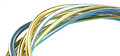 Gold And Silver Wire Royalty Free Stock Image - 64804226