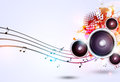 Music Funky Bright Background Stock Photos - 64817613