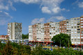 Modern Apartment Buildings, Budapest, Hungary Royalty Free Stock Photo - 64823545