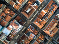 Top View Of Lower Town, Lisbon, Portugal Royalty Free Stock Image - 64861046