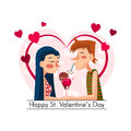 Happy St. Valentines Day Stock Photography - 64864102