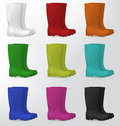 Rubber Safety Boots Stock Photos - 64878333
