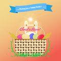Wishing You A Happy Easter Royalty Free Stock Images - 64880029