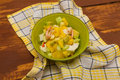 California Salad With Shrimp And Crab Stock Photography - 64881232