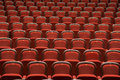 Seats In Empty Theatre Stock Photography - 64889112