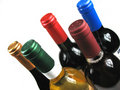 Different Bottles Of Wine Stock Image - 6491331