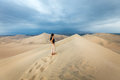 Sand Dunes In Huacachina Desert, Ica Region Royalty Free Stock Image - 64902026