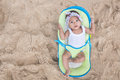 Baby Girl Enjoying Summer Royalty Free Stock Photo - 64904945
