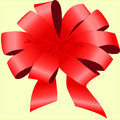 Beautiful Red Bow Stock Image - 64907011
