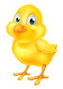 Yellow Easter Chick Stock Photography - 64926242