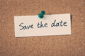 Save The Date Royalty Free Stock Image - 64940076