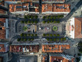 Top View Of Rossio Square, Lisbon, Portugal Royalty Free Stock Image - 64959576