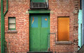 Green Door Royalty Free Stock Photos - 655708