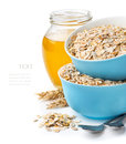 Healthy Breakfast,  Mixture Of Cereal Flakes Royalty Free Stock Photo - 65018855