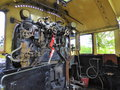 The Controls Of A Steam Locomotive Stock Photos - 65020033