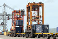 Port Container Handling Stock Photos - 65023403