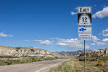 Road Sign On Scenic Byway 12 In Utah Royalty Free Stock Photography - 65027337