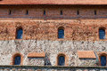 Exterior Of The Trakai Castle Old Brick Wall With A Windows In Trakai, Lithuania. Royalty Free Stock Photography - 65031487
