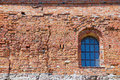 Exterior Of The Trakai Castle Old Brick Wall With A Window In Trakai, Lithuania. Royalty Free Stock Photo - 65032075