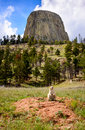 Devils Tower Stock Image - 65045691