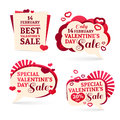 Set Logo, Sets, Badges, Stickers For Valentine S Royalty Free Stock Photo - 65078475