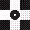Abstraction From It Ts Black White Circles. Royalty Free Stock Photo - 6518095