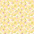 Seamless Pattern With Little Pink Flowers Royalty Free Stock Image - 65118976