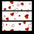 Banners Valentines Day Stock Image - 65131101