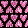 Valentine S Day Heart Glitter Pattern Stock Images - 65163374