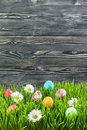 Easter Eggs In Grass Royalty Free Stock Photography - 65183227