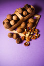Walnuts With Shell Royalty Free Stock Photos - 65196588