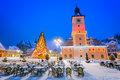Christmas Market, Brasov, Transylvania - Romania Stock Photos - 65198663