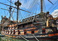 Old Pirate Ship Royalty Free Stock Photography - 65201437