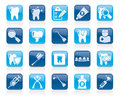 Dental Medicine And Tools Icons Stock Photos - 65203113