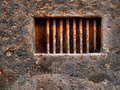Rusted Bars On The Wall Stock Images - 65207784