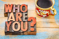 Who Are You Question Stock Photo - 65211090