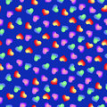 Seamless Pattern Of Hearts Stock Photos - 65260833