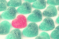 Valentines Day Heart  Shaped Jelly Candies Stock Photos - 65265123