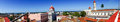 Cienfuegos Town From A Roof Top Royalty Free Stock Photography - 65266527