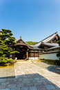Blue Sky Chion-In Temple Side Entrance Kyoto V Stock Photos - 65273753