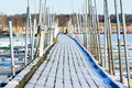 Marina In Winter Stock Images - 65283464