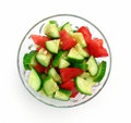 Simple Salad Stock Photography - 6531552
